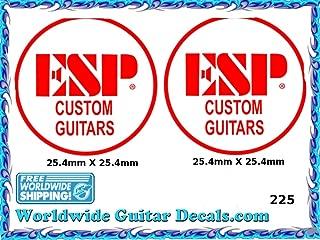 ESP Guitar Decal Headstock Waterslide Restoration logo 225