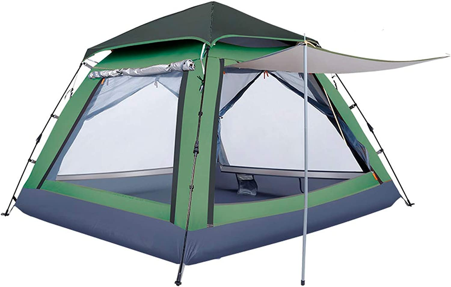 Hengtongtongxun Camping Tent, Outdoor Awning, Dome, Easy to Install (Suitable for 3-4 People), Latest Styles