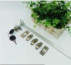 Een slot, drie slot, ladeslot, bureau, klassieker, voorzijde, meubels, afrollen, cilinder.