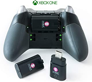 Xbox Battery Pack - Xbox One Battery Pack / Charging kit / Controller Rechargeable batteries Twin Pack for any Xbox One Xbox One S Xbox One Elite Xbox One X Wireless Controllers