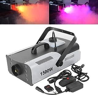 TC-Home 1500W Fog RGB 3in1 8 LED DJ Stage Wedding Smoke Machine Wireless Remote