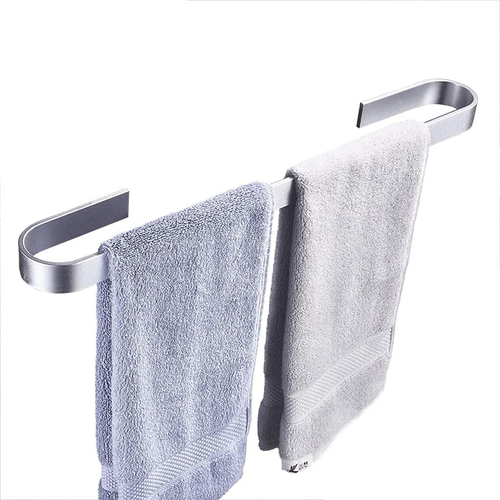 HLWJXS Bathroom Towel Rack Rail Space Wall-Mounted High quality Alumin Easy-to-use