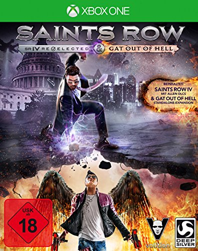 Saints Row IV Re-elected + Gat Out of Hell (XONE) - [Edizione: Germania]