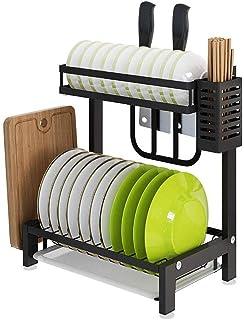 YFGQBCP Rangement et Organisation de Cuisine Égouttoir de séchage sur Sink Roll Up Grand égouttoirs Rack, Polyvalent Pliab...