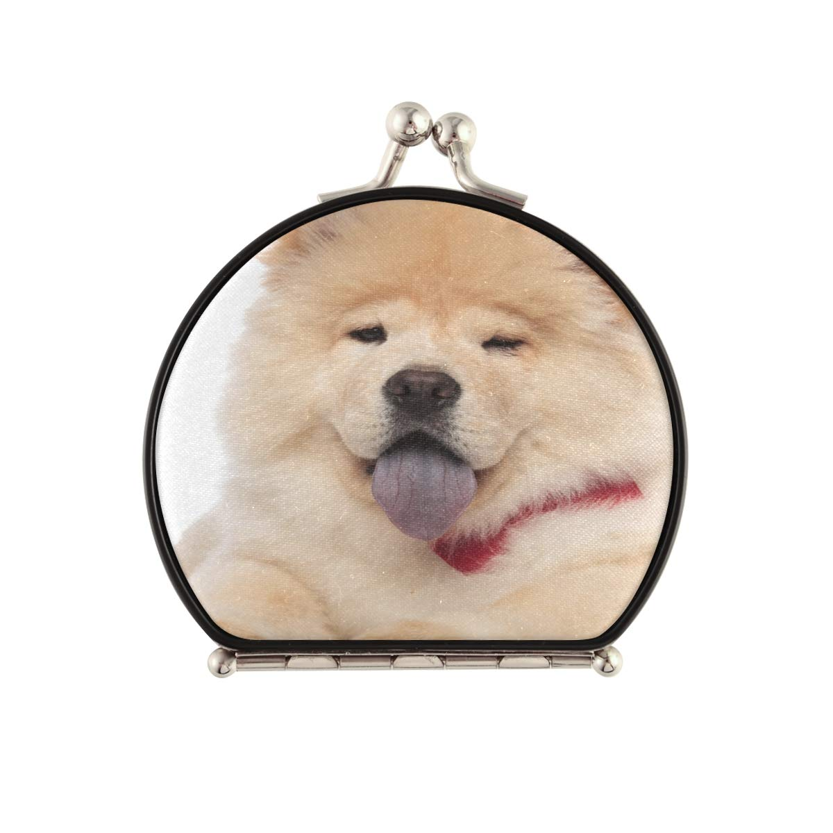 Magnifying Compact Cosmetic Mirror Max 48% OFF Cute Chow Bo Ranking TOP15 Wearing Red