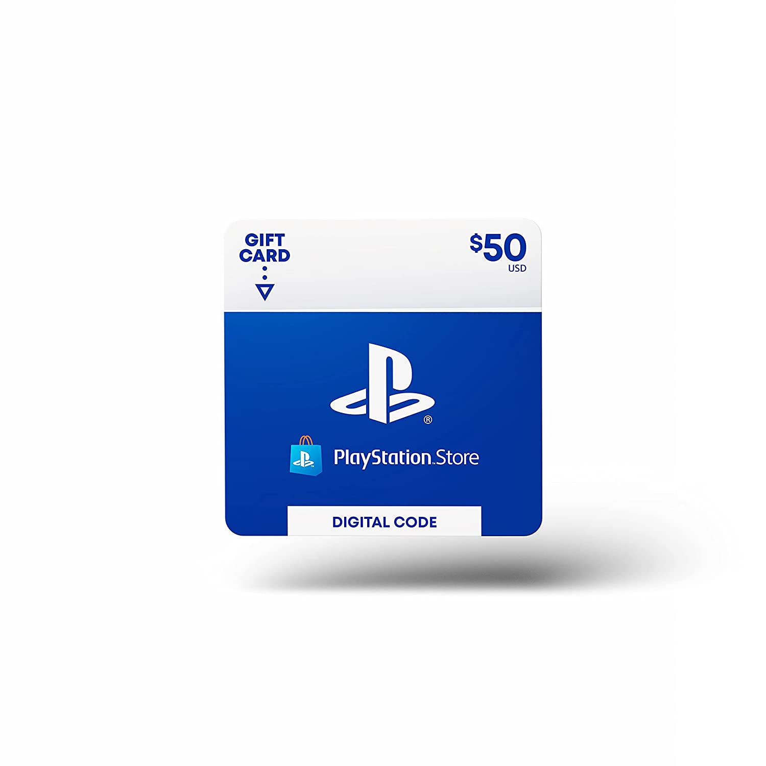 $ 50 PlayStation Store礼品卡[数字代码]