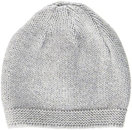 Sterntaler Strickmütze für Jungen, Alter: 1-2 Monate, Größe: 35, Grau (Silber Melange)