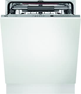 AEG FSE63700P Totalmente integrado 15cubiertos A+++ lavavajilla - Lavavajillas (Totalmente integrado, White,Not applicable, Full size (60 cm), Plata, LCD, Frío, Caliente)