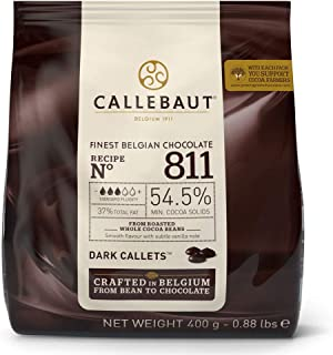 comprar comparacion Callebaut Cobertura Chocolate Negra 400g.