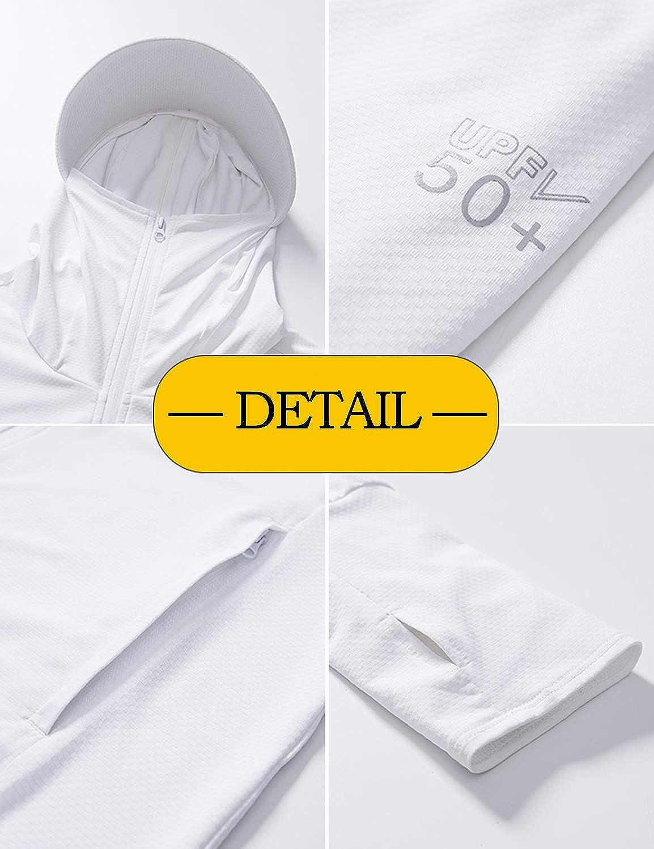 TKTOKY Women Yoga Jacket Ultra-Thin Full Zip Hooded Cycling Jacket UV Sun Protection Sports Running Jacket