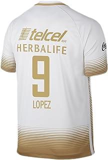 e4d8dfe32cffe Nike Lopez   9 Pumas UNAM Hombres Home Jersey 2015 – 2016