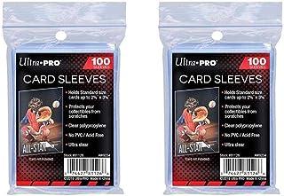Ultra Pro Standaard Regular Soft 200 stuks Penny kaartfolie kaarthoezen Sleeves - voor verzamelkaarten zoals Pokemon Magic...