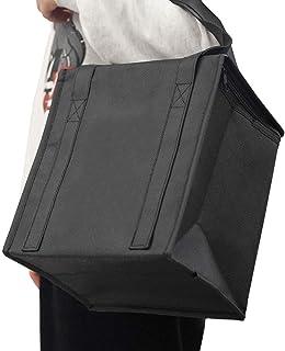 ウーバーイーツバッグリュック断熱フードデリバリーバッグ大型ダブルデッキ断熱フードデリバリーバックパック、下見板張り、防水,S...