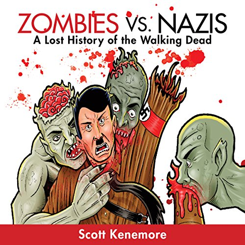 Zombies vs. Nazis audiobook cover art