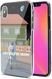 LG G8X ThinQ ケース カバー ハード TPU 素材 おしゃれ かわいい 耐衝撃 花柄 人気 全機種対応 宇宙の生活1 ファッション 写真.風景 11910894