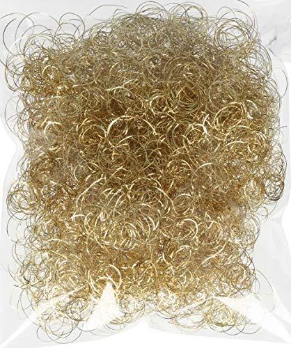 Novaliv Engelshaar Gold I Weihnachtsdeko I 15gr Lametta Hair zum Basteln Baumschmuck Weihnachten Engelshaar gelockt