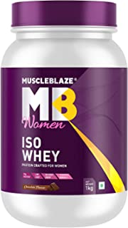 Muscleblaze Women Iso-Whey 100% Whey Protein Isolate (Chocolate)