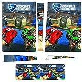 R-ocket L-eague PS5 Pegatinas Ps5 Controlador Piel Ps5 Piel Ps5 Accesorios (Versión CD-ROM)