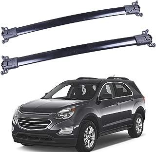 "ROADFAR 38"" Roof Rack Aluminum Top Rail Carries Luggage Carrier Fit for 2010 2011 2012 2013 2014 2015 2016 2017 Chevrolet Equinox/GMC Terrain Baggage Rail Crossbars"