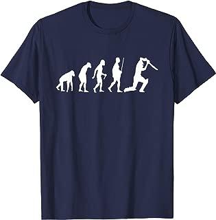 Evolution of Cricket Sports Shirt American Cricket T-Shirt