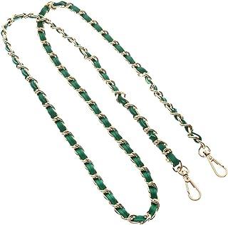 Beacone Iron Flat Chain Replacement Crossbody Handbag Purse Strap Metal Shoulder Bag Strap
