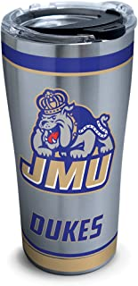 Tervis James Madison Dukes Tradition Insulated Tumbler, 20 oz Stainless Steel, Silver