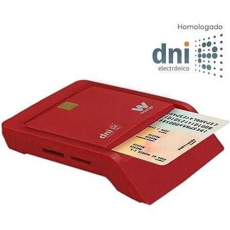 SCM SCL011 - Lector USB de tarjetas inteligentes (para DNI ...