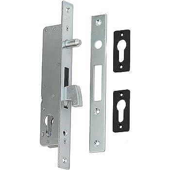 Gancho Candado Cerradura Puerta corrediza 40 puertas correderas (con contraplaca: Amazon.es: Bricolaje y herramientas