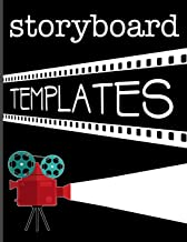 Storyboard Templates: Filmmaker 16:9 Notebook With Camera Lights and Film Design To Sketch And Write Out Scenes With Easy-To-Use Template