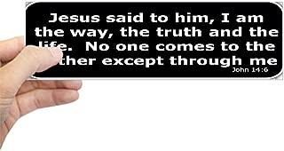 CafePress Bible Verse John 14:6 10