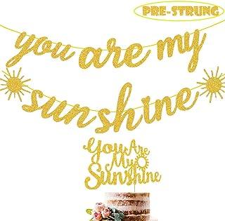 my only sunshine sun birthday summer birthday You are my sunshine first birthday