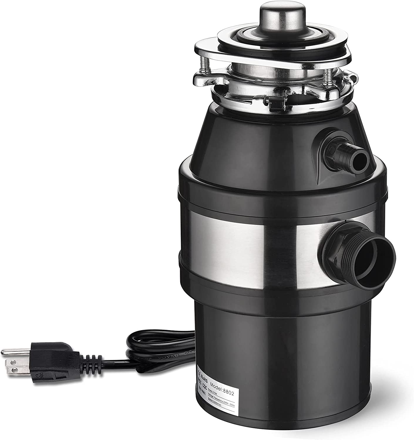 WeChef Garbage Disposal with Power Waste High order for Kitchen Ranking TOP3 Cord Operat