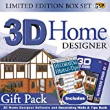 3D Home Designer Deluxe limited edition box with FREE The Ultimate Book Of Decorating Hints & Tips -