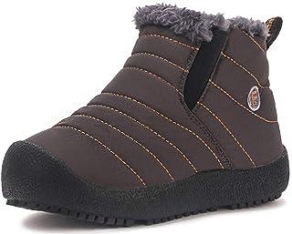 93ec52b2 Gaatpot Zapatos Invierno Niña Niño Botas de Nieve Forradas Zapatillas  Sneaker Botines Planas para Unisex Niños