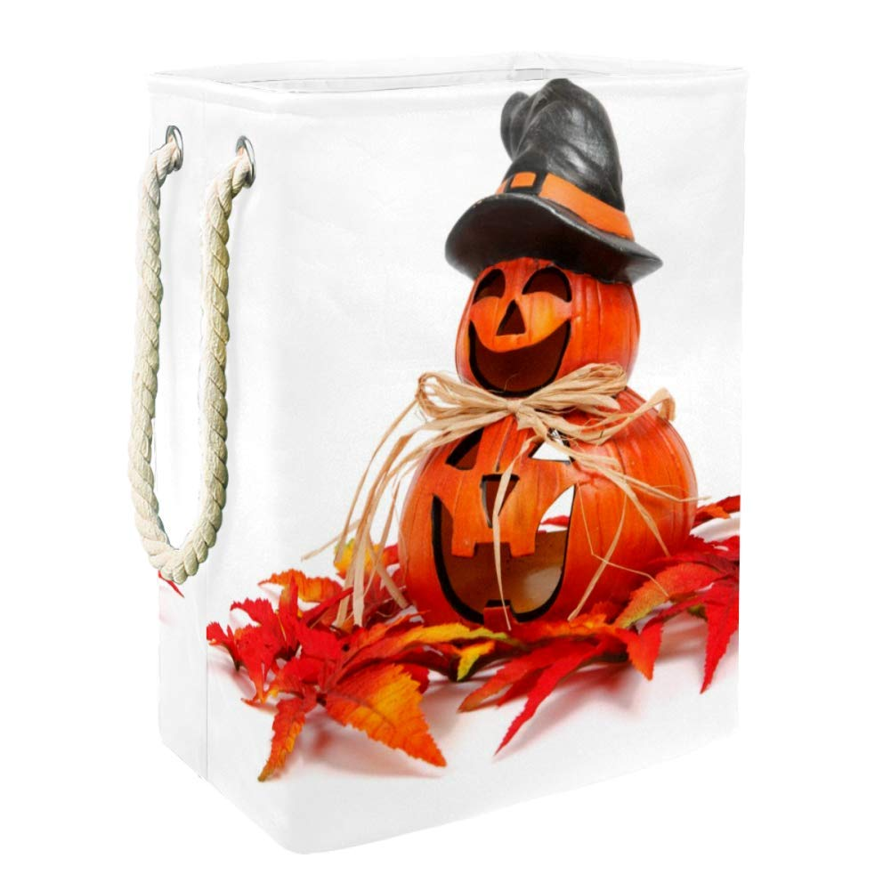 Pumpkin Halloween Toy and Accessory Max 43% OFF 4 years warranty Bin Storage Orga Collapsible