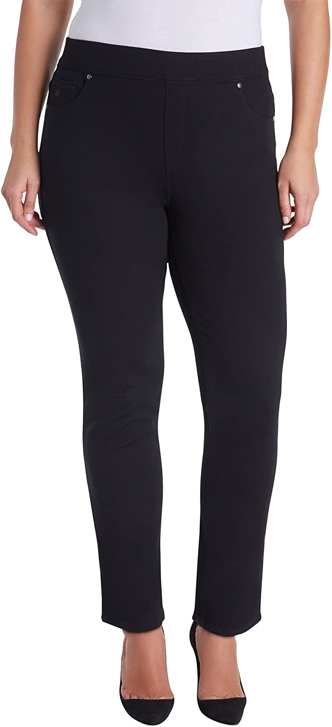 Gloria Vanderbilt Plus Size Avery Pull On Slim Pants