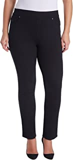 Plus Size Avery Pull On Slim Pants