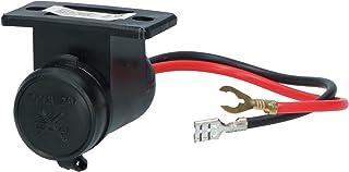 Carpoint-Steckdose Spritzwassergeschützt 12/24V - 21mm Zigarettenanzünder Stecker