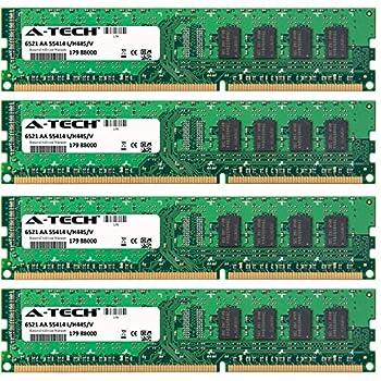 16GB KIT  4 x 4GB  for Dell Studio Desktop Series XPS 435 XPS 7100 XPS 8000 XPS 8100 XPS 8300 XPS 9000 XPS 9100 DIMM DDR3 Non-ECC PC3-10600 1333MHz RAM Memory Genuine A-Tech Brand.
