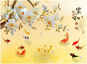 JLHBM Chinese Art Jigsaw Puzzles 500/1000/2000/3000/4000/5000 Pieces for Adults, Challenging Wooden Puzzles for Adults Art Puzzle - Koi in The Pond (Size : 2000pcs )