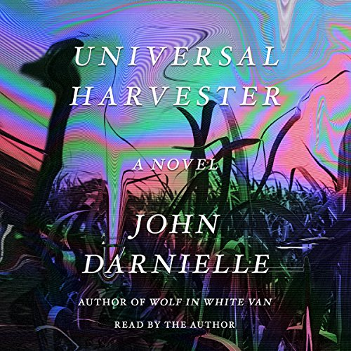 Universal Harvester audiobook cover art