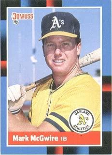1988 Donruss Baseball Card #256 Mark McGwire
