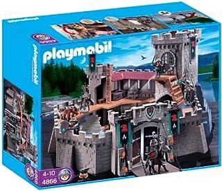 PLAYMOBIL - Castillo de los Caballeros del Halcón, Set de Juego (4866)
