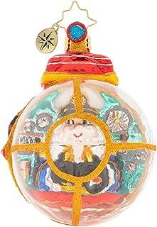 Christopher Radko Submarine Claus Christmas Ornament, Multicolor