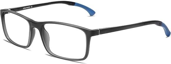 Sponsored Ad - VANLINKER Rectangle Blue Light Blocking Glasses Anti Eyestrain Lightweight Frame Computer Gaming Eyeglasses...
