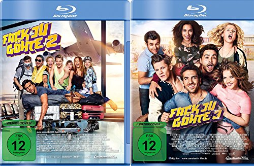 Fack ju Göhte / Fuck you Göthe 2+3 im Set - Deutsche Originalware [2 Blu-rays]