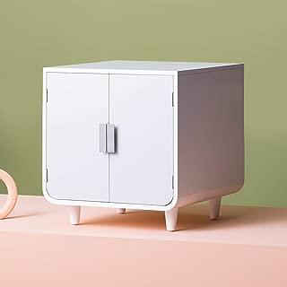 Staart - Dyad Wooden Cat Litter Box - Alpine White