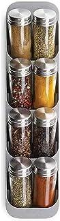 Yuehuam Bottle Spice Storage Box Spice Rack Drawer Cabinet Spice Jar Bottle Storage Box 8 Grids Organizer Holder Hosehould...