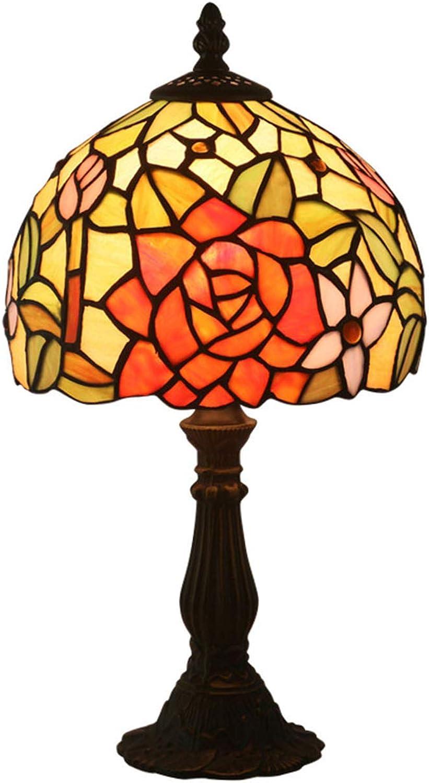 Xiuxiu Europäische Kreative Retro Glasmalerei Tischlampe Schlafzimmer Nachttischlampe Esszimmer Esszimmer Esszimmer Wohnzimmer Bar Mode Dekorative Tischlampe B07J5T2KVV | Ermäßigung  9db8d0