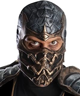 Mortal Kombat Deluxe Overhead Scorpion Mask